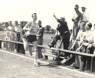 <p>Supplied photos</p><p>Dave Drybrough was Manitoba's dominant runner from the mid-1950s until the early 1960s. Drybrough died in March at the age of 84.</p>