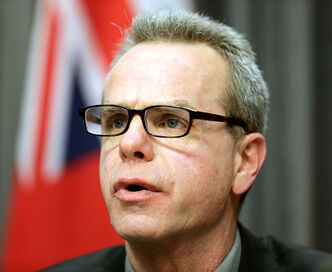 Manitoba Education and Advanced Learning Minister James Allum