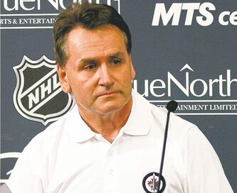 Winnipeg Jets assistant GM Craig Heisinger