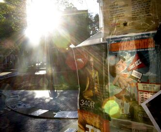 The sun rises on another day of the Winnipeg Fringe Festival, which runs until July 27.