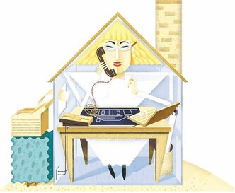 There's no doubt the occasional work-at-home practice is a fabulous option for workers who can work remotely. But several studies raise doubts.