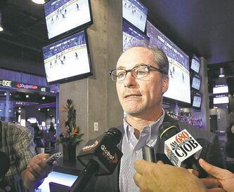 Jim Ludlow of True North says the Shark Club is an ideal fit for downtown.