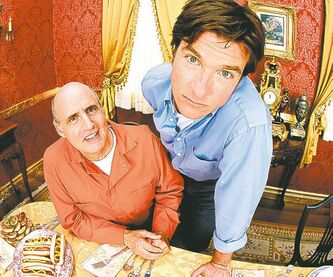 Jeffrey Tambor (left) and Jason Bateman in Arrested Development.