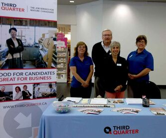 From left: ThirdQuarter's Dorothy Thach, Jim Brennan, Rosie Jodoin and Colette Hogue.