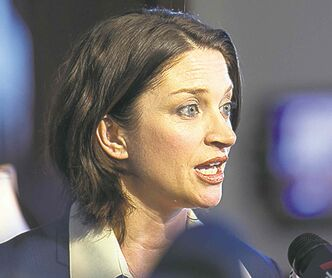 Health Minister Erin Selby