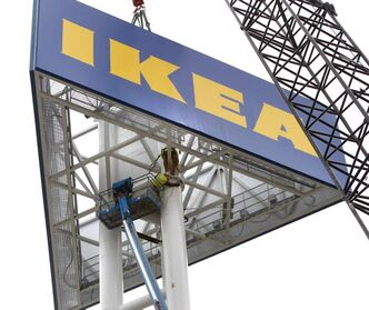 The new IKEA store is a draw for tourists.