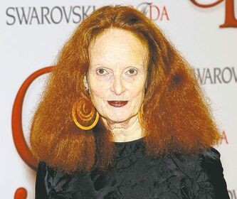Vogue stylist Grace Coddington