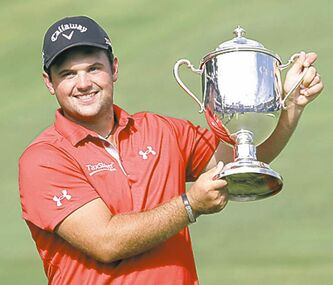 Patrick Reed and the hardware.