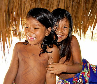 The lives of the Embera Indians in Pararapuru, Panama, haven't really changed in hundreds of years.
