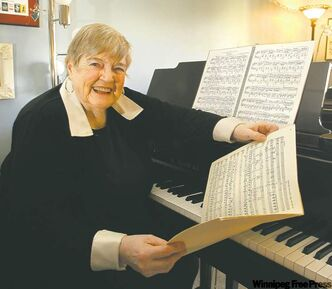 Conductor Helga Anderson says 'choir directing is communication.'