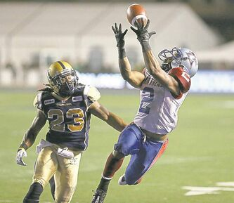 trevor hagan / winnipeg free press archivesSomebody � anybody � has to step up and take charge on defence. Maybe that somebody is linebacker Jonathan Hefney.