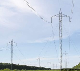 The NDP is promising help for local companies and workers for projects such as transmission lines.