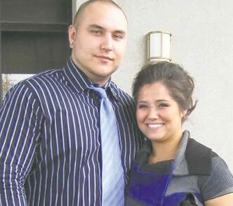 Drake Moslenko and then-girlfriend Kaila Tran. Moslenko's charge is still before a preliminary hearing.