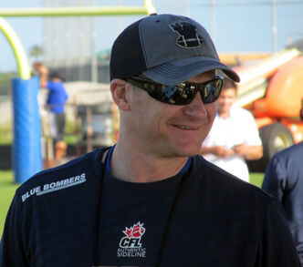 Bombers head coach Mike O'Shea