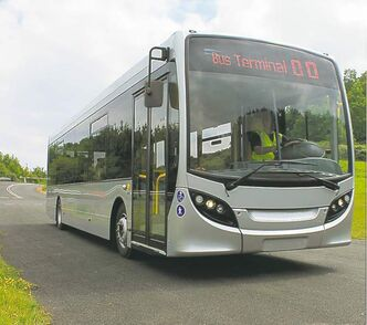 New Flyer plans to make its new MiDi buses at its plant in St. Cloud, Minn.