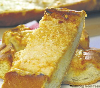Cheese toast.