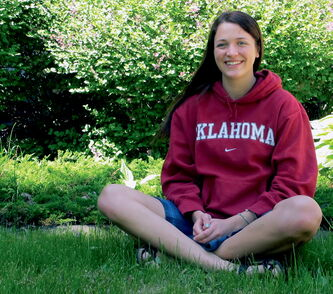 Though she loves her school, Megan Linton is excited to move south to University of Oklahoma, where she earned a full scholarship for rowing.