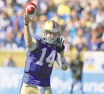 Joey Elliott will lead the Winnipeg Blue Bombers offence against the Calgary Stampeders, even though No. 1 quarterback Buck Pierce is healthy enough to play.