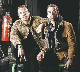 Macklemore, left, and Ryan Lewis