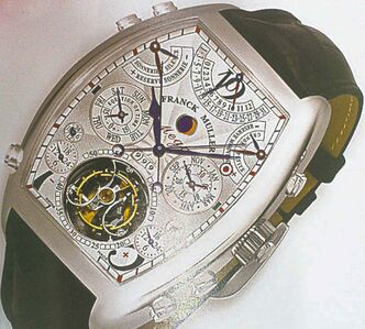 Franck Muller�s Aeternitas Mega 4, valued at $2.9 million.