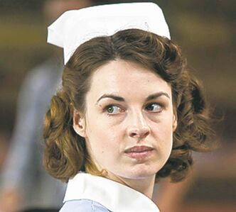 "Jessica Raine stars in ""Call the Midwife"" on PBS. (John Rogers/PBS/MCT)"