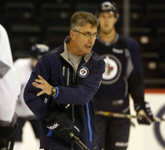 'The problem right now is we're trying to put skill ahead of work. We've got it backwards,' says Winnipeg Jets head coach Claude Noel