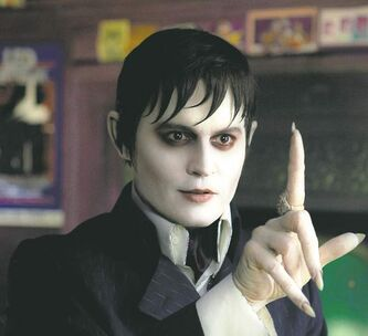 FULL CLOSE CUT CLOSECUT - In this film image released by Warner Bros., Johnny Depp portrays Barnabas Collins in a scene from