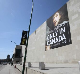 The Winnipeg Art Gallery has extended the hours for its 100th anniversary exhibition, 100 Masters: Only in Canada.
