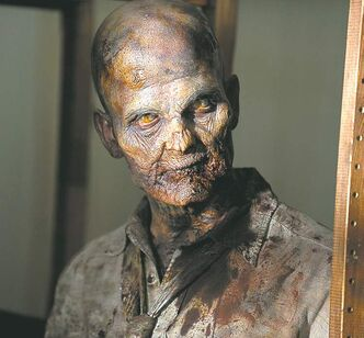 Sometimes it's not the zombie, such as this one from an episode of The Walking Dead, that is the worst villain.
