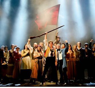 The new production of Les Miserables is 'quicker, edgier and more in-your-face.'