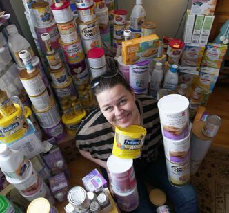 Susan Krepart spearheaded the Magnus Hay Formula Drive for Winnipeg Harvest and raised over $26,000 in cash and $10,000 worth of baby formula.