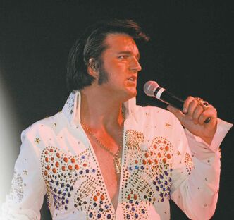Adam Fitzpatrick started impersonating Elvis on a dare.