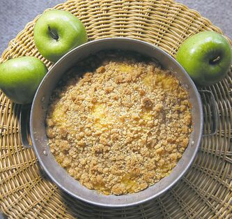 This turnip and apple casserole is a southern favourite that mixes sweet and savoury flavours.