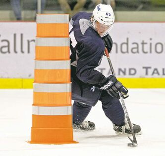 MIKE DEAL / WINNIPEG FREE PRESS  archivesDefenceman Jacob Trouba, the Jets� first-round draft pick this year, is eager �to make up for what happened last year� to Team USA at the world junior championship.