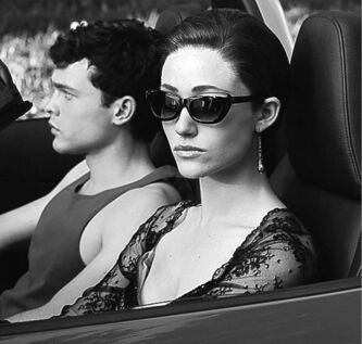 (L -r) ALDEN EHRENREICH as Ethan Wate and EMMY ROSSUM as Ridley Duchannes in Alcon Entertainment�s supernatural love story ��v�v?BEAUTIFUL CREATURES,��v�vp a Warner Bros. Pictures release.