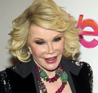 FILE - In this Jan. 19, 2012, file photo, Joan Rivers attends a screening of the Season 2 premiere of WE TV's