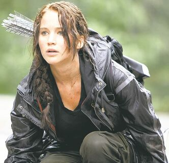 Jennifer Lawrence as Katniss