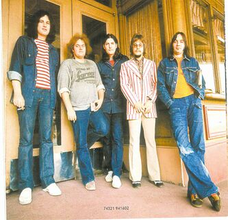 Kurt Winter�s home was immortalized on the Guess Who album So Long, Bannatyne (Hello, My Chevrier Home). Winter (second from left) was  unceremoniously dismissed from the band in 1974.