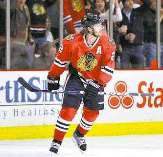 Blackhawks defenceman Duncan Keith has been under fire for comments he made to a female reporter.