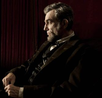 "Daniel Day Lewis stars as President Abraham Lincoln in Steven Spielberg's ""Lincoln,"" in which a political impasse mirrors the gridlock in the United States today."