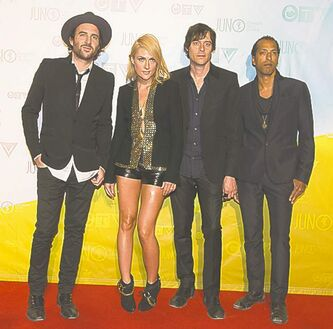 Metric was a multiple winner Sunday night.