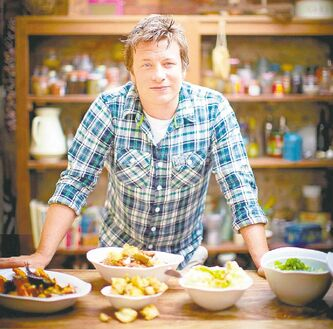 Jamie Oliver of Jamie's Italian Kitchen.