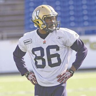 Isaac Anderson will suit up for his first CFL game Friday night.