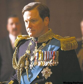 Colin Firth stars in The King's Speech