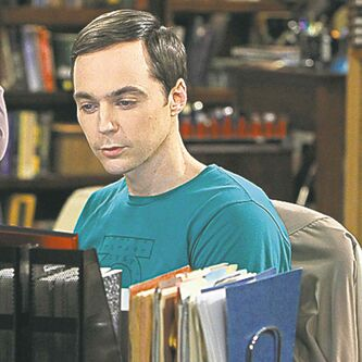 Sheldon (Jim Parsons) on The Big Bang Theory