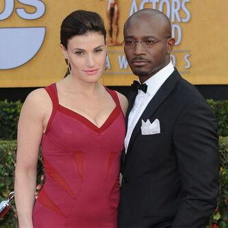 Idina Menzel and ex-husband Taye Diggs
