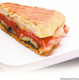 Sure, grilled panini are sandwiches, but they're sandwiches fit for company.