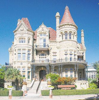 Visitors can tour the eclectic, 'chateau-esque' Bishop's House in Galveston.