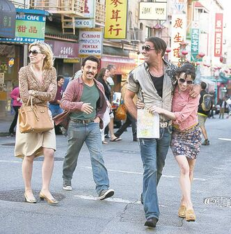 From left, Cate Blanchett, Max Casella, Bobby Cannavale and Sally Hawkins.