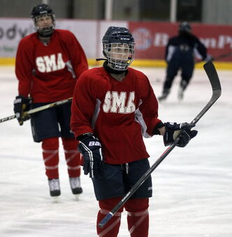 Kayla Friesen has found the hockey challenge she sought when she joined the Flames.